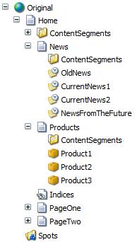 Sample site content