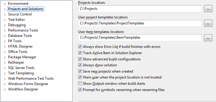 Creating Visual Studio project templates | Reason→Code→Example