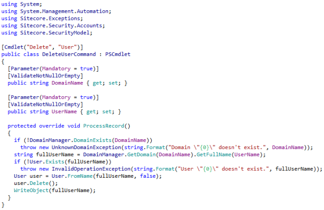 DeleteUserCommand source code