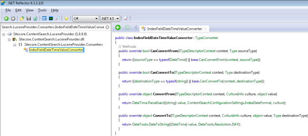 Sitecore.ContentSearch.Converters.IndexFieldDateTimeValueConverter