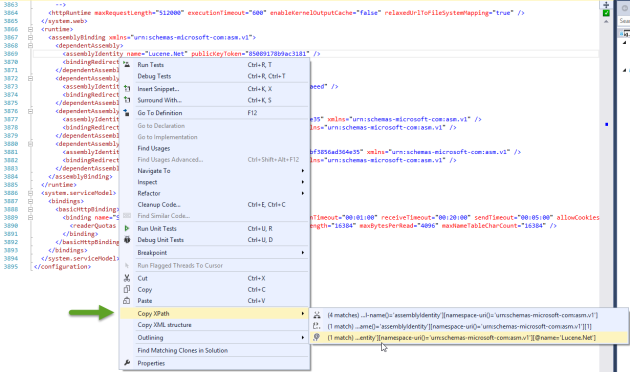 Screenshot - Copy XPath