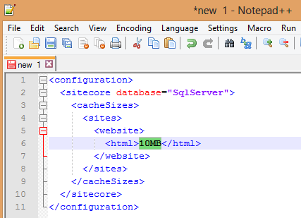 Screenshot - XML Structure paste