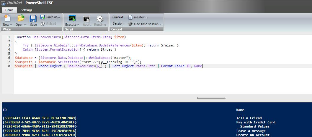 Sitecore LinkDatabase throws System FormatException: Unrecognized