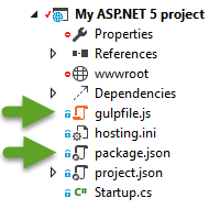 Project structure screenshot